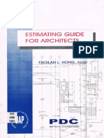 Estimating Guide for Architects