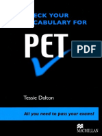 Check Ur Vocabulary for PET
