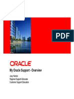 Oracle Support Presentation