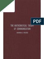 The Math. Theory of Commu.