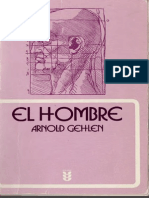 Gehlen Arnold El Hombre