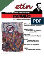BOLETÍN COMPAÑERO - FRENTE SINDICAL LEÓN DUARTE - NOVIEMBRE/2015