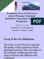 LOS - Methods for terminal evaluation