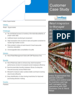 Case Study SAP Business One With IVend Retail- Imtiaz Supermarket