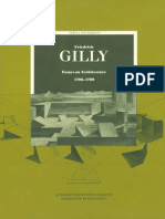 GILLY, F._essays on Architecture, 1796-1799