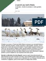 Magico Natale Nei Parchi Piu Belli d'Italia