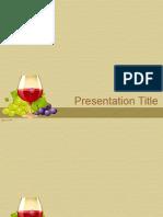 Vino i Vinograd Na Bezhevom Fone