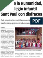 151205 La Verdad CG-El Día de La Humanidad, En El Colegio Infantil Sant Paul Con Disfraces p.9