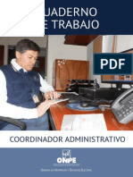 Coordinador Administrativo Odpe - Eg
