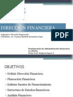 Direccion Empresarial #5 Direccion Financiera