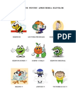 Mascote Pentru Aprecierea Elevilor.doc
