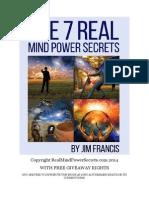 7 Real Mind Power Secrets