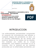 Diagnostico y Pronostico de La Enferm. Periodontal