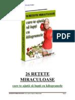 26 Retete Miraculoase