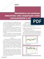 Harmônicos Sistemas Industriais Cooperação Concessionária Consumidor (2)