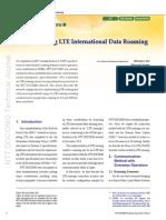 Implementing LTE International Data Roaming