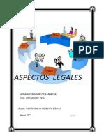 Apectos Legales en Una Empresa
