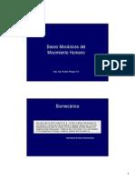 Bases Mecánicas Del Movimiento [Modo de Compatibilidad]