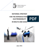 National Strategy for the Introduction of Electromobility in Malta_July 2012