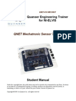 QNET MECHKIT Laboratory - Student Manual