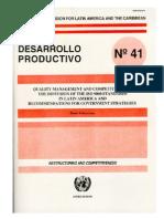 CEPAL Competitividad ISO 9000