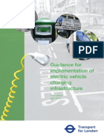 Guidance for Implementation of Electric Vehicle Charging Infrastructure