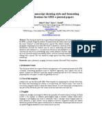 Journals JNP Sample E-Jnl Manuscript