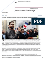 Square's IPO a Lesson to Rival Start-ups - FT