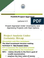 Fin650 Lecture 4-5