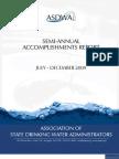 Accomplishments Report July - Dec 2009