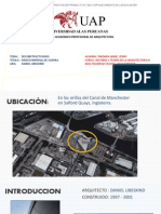 DECONSTRUCTIVISMO - ARQUITECTO DANIEL LIBESKIND - OBRA MUSEO IMPERIAL DE LA GUERRA SEDE NORTE