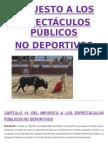 Impuesto a Los Espectaculos Publicos No Deportivos (1)
