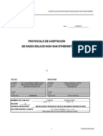 Protocolo Instalacion de Mw Ericsson
