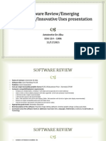 software review emerging technology innovative uses presentation