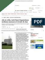 BRUNO FRANCESCO Afa in Cella, Tutti Fuori Ergastolano Siciliano Massacra Il Rivale Di Clan - Cronaca - Il Mattino Di Padova