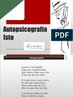Autopsicografia e Isto-análise