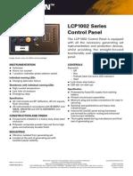 LCP1002 Control Panel LEHF0170 02
