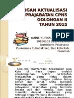 rancangan aktualisasi nutrisionis pelaksana 2015