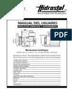 Manual Motobomba Centrifuga v.d.07 11