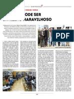«A Escola pode ser um Reino Maravilhoso» - Público, dez. 2015