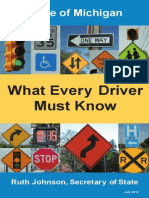 Michigan Driving Booklet