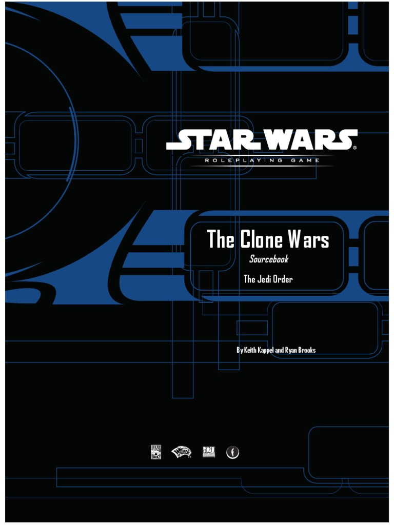 d20 star wars clone wars sourcebook the jedi order jedi