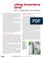 Connecting Inverters to the Grid