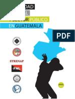 Impunidad laboral y el sector público en Guatemala