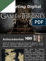 Comercio electrónico Game of Thrones
