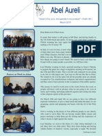 """1 """"Operation Italy March 2015 Newsletter"""""""