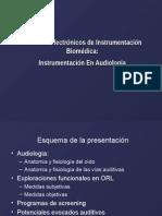 Sistemas Electronicos Instrumentacion Biomedica Instrumentacion Audiologia