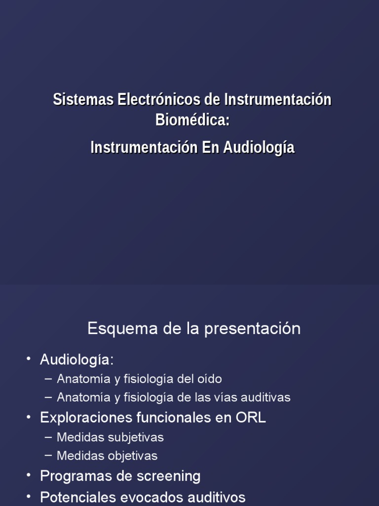 Sistemas Electronicos Instrumentacion Biomedica Instrumentacion ...