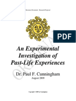 Investigation in Past Life Experiences