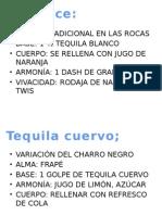 Bebidas Tequila[1]